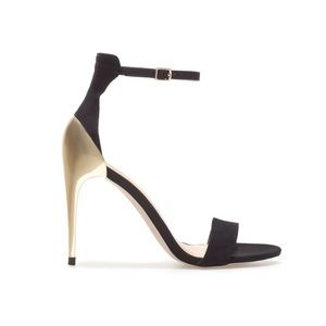 Zara Combination Gold Shoes